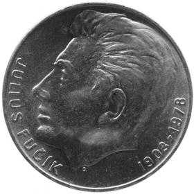 100 Kčs / 1978 - 700. výročie narodenia J. Fučíka - Bežná kvalita