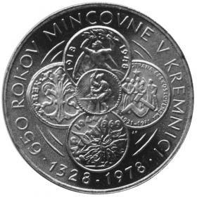 50 Kčs / 1978 - Mint Kremnica - BU