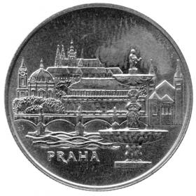 50 Kčs / 1986 - Mestská pamiatková rezervácia Praha - Bežná kvalita