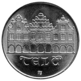 50 Kcs / 1986 - Telc city monument reserve - Standard quality