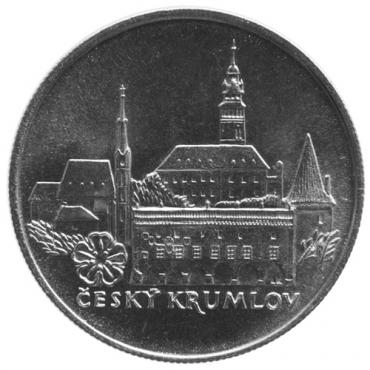 50 Kčs 1986 - Mestská pamiatková rezervácia Český Krumlov, Bežná kvalita