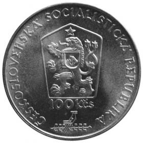 100 Kčs / 1988 - 100. výročie narodenia M. Benku - Bežná kvalita