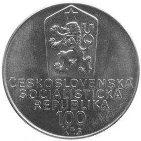 100 Kčs / 1990 - 100. výročie narodenia Karla Čapka - Bežná kvalita