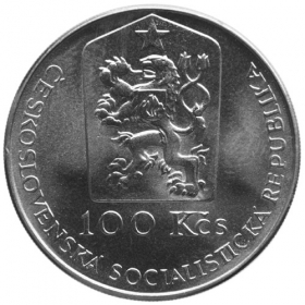100 Kcs / 1990 - 250th anniversary of Jan Kupecky´s death - Standard quality