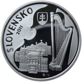10 Eur 2011 - 100. výročie narodenia Jána Cikkera - Proof
