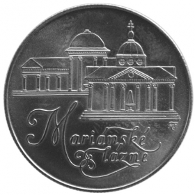 50 Kčs / 1991 - Mariánske Lázně - Bežná kvalita