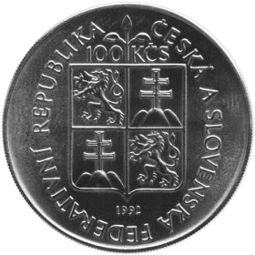 100 Kčs / 1992 - Moravian County Museum - BU