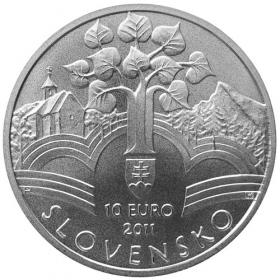 10 Eur 2011 - 150. výročie prijatia Memoranda národa slovenského - Bežná kvalita