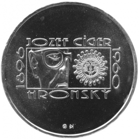 200 Sk / 1996 - 100th anniversary of the birth of Jozef Cíger Hronský - BU
