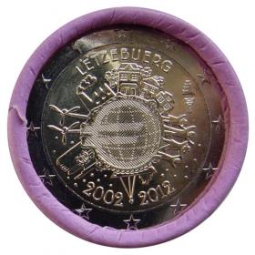 2 Euro Luxembursko 2012 - 10 rokov euromeny