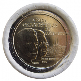 2 Euro Luxembursko 2012 - Guillaume IV.