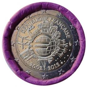 2 Euro Francúzsko 2012 - 10 rokov euromeny