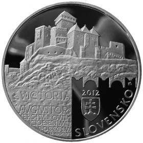 20 Euro / 2012 - Historical Preservation Area of Trenčín - Proof
