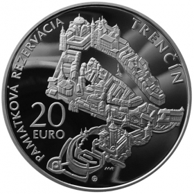 20 Eur 2012 - Pamiatková rezervácia Trenčín - Proof