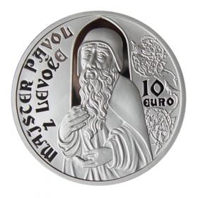 10 Eur 2012 - Majster Pavol z Levoče - Proof