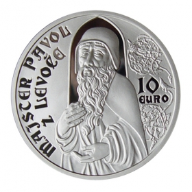 10 Euro / 2012 - Master Pavol of Levoča - Proof