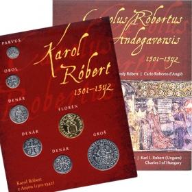 Karol Róbert - Sada mincí (postriebrené a pozlátené repliky) Slovenská verzia