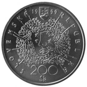200 Sk / 1999 - Pavol Orságh Hviezdoslav - Bežná kvalita
