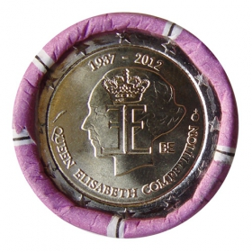 2 Euro / 2012 - Belgium - 75 Years anniversary Queen Elisabeth´s Competition