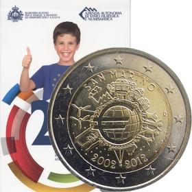 2 Euro / 2012 - San Maríno - 10 rokov euromeny