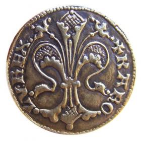 Medaila s motívom Kremnického dukátu - Patina