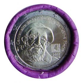 2 Euro Francúzsko 2012 - Abbe Pierre