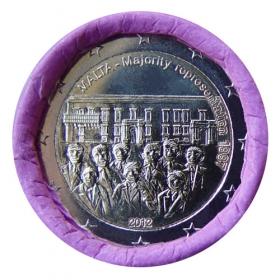 2 Euro / 2012 - Malta - Väčšinové volebné právo 1887