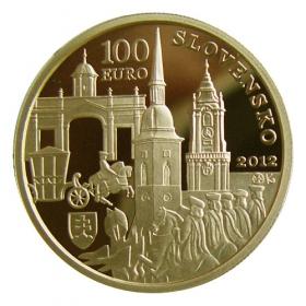 100 Euro / 2012 - Korunovácia Karola III.