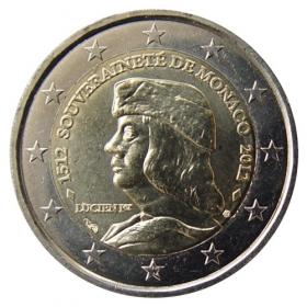 2 Euro Monako 2012 - Nezávislosť