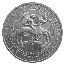 10 Euro / 2013 - 200th anniversary of the National Bank of Slovakia - Standard quality