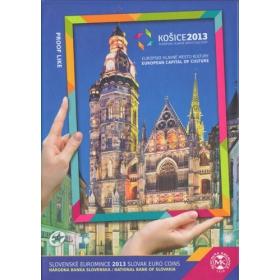 Sada Euro / 2013 - Slovenské euromince - Košice 2013: Európske hlavné mesto kultúry - Proof