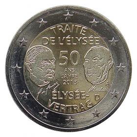 """2 Euro Nemecko """"A"""" 2013 - Elyzejská zmluva"""