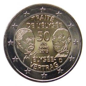 "2 Euro Nemecko ""D"" 2013 - Elyzejská zmluva"