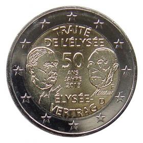 """2 Euro Nemecko """"F"""" 2013 - Elyzejská zmluva"""