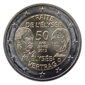 """2 Euro Nemecko """"J"""" 2013 - Elyzejská zmluva"""
