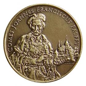 Medaila Ján František Pálffy - Patina