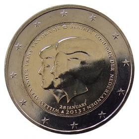 2 Euro Holandsko 2013 - Odstúpenie kráľovnej Beatrix