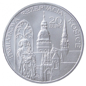 20 Euro / 2013 - Historical Preservation Area of Kosice - Standard quality