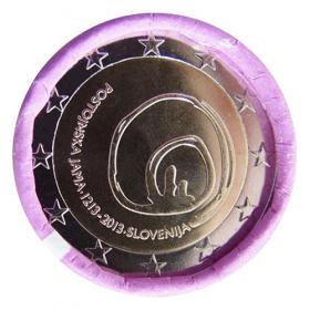 2 Euro Slovinsko 2013 - Jaskyňa Postojna