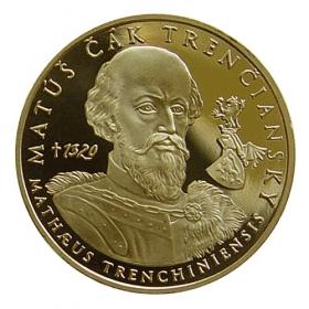 Medaila Matúš Čák Trenčiansky - Lesk