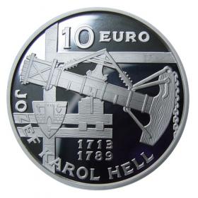 10 Eur 2013 - 300. výročie narodenia Jozefa Karola Hella - Proof