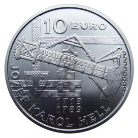 10 Eur 2013 - 300. výročie narodenia Jozefa Karola Hella - Bežná kvalita