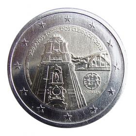 2 Euro Portugalsko 2013 -  Zvonica Torre Dos Clérigos