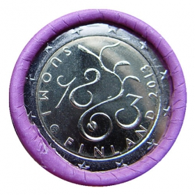 2 Euro Fínsko 2013 - Fínsky parlament