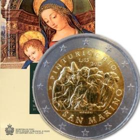2 Euro San Maríno 2013 - Pinturicchio