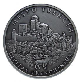 Medal Matus Cak of Trencin - Patinated