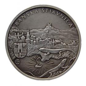 Medal Jozef Karol Hell - Patinated