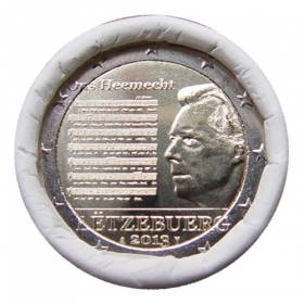 2 Euro / 2013 - Luxembourg - National Anthem
