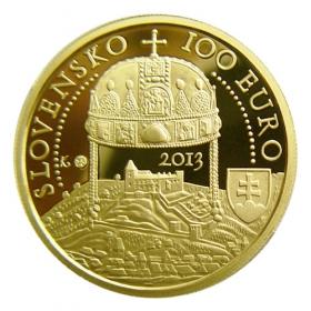 100 Euro / 2013 - 450th anniversary of the coronation of Maximilian II.