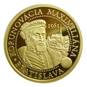 100 Euro / 2013 - Korunovácia Maximiliána II.